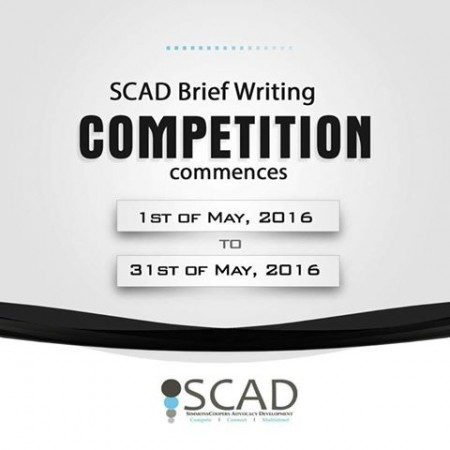 SCAD Brief Writing Competition